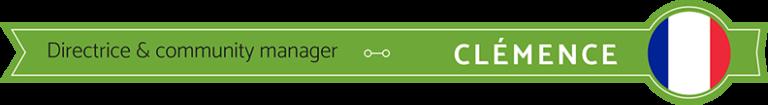 Clémence - Directrice et community manager