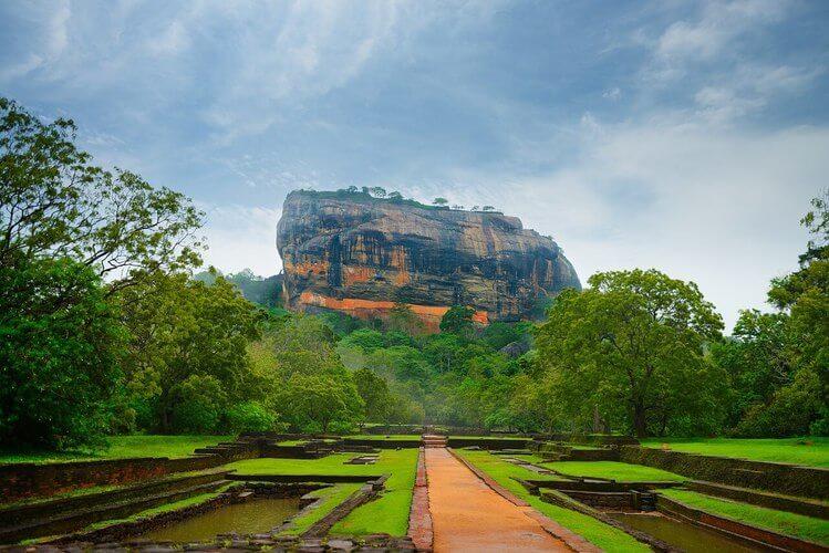Rocher du lion Sigiriya