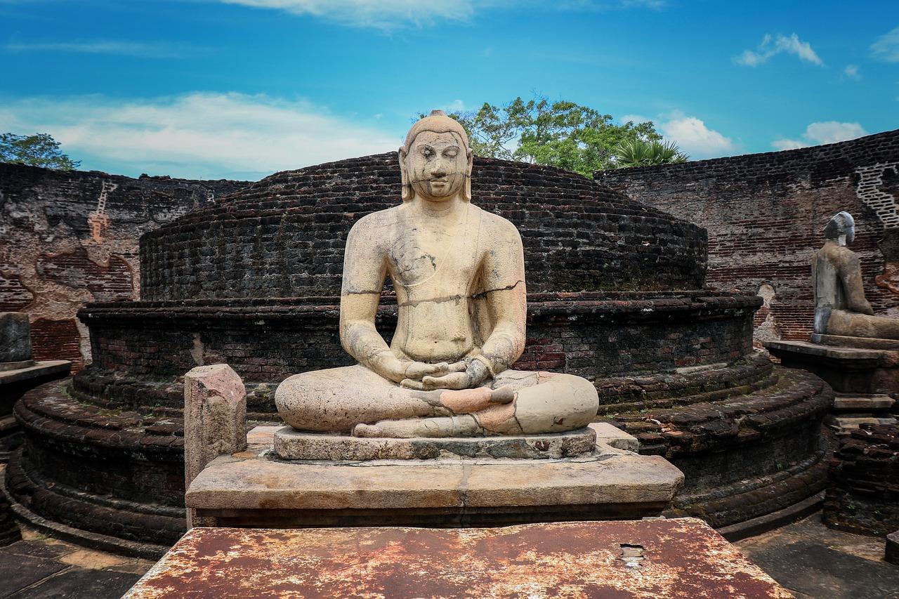 Temple au Sri Lanka